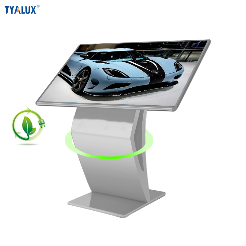 32 inch totem lcd advertising display poster mall kiosk design with android 4.4