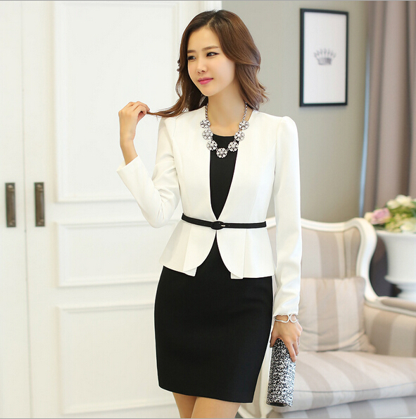 EY0024D 2015 Autumn Summer new Women Korean Fashion Slim office lady style dress for lady