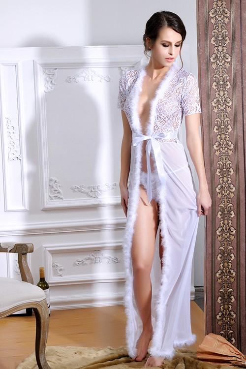 Short Sheer Robe Reviews Online Shopping Short Sheer
