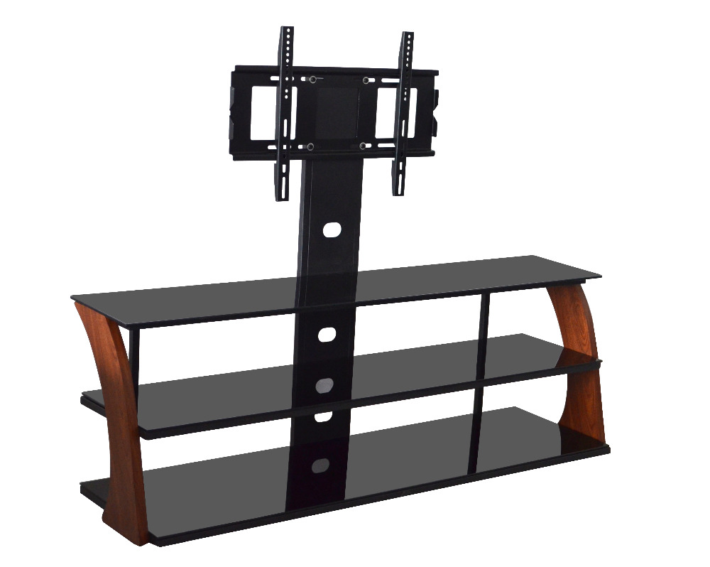Adjustable desktop bentwood LCD tv stand DG048