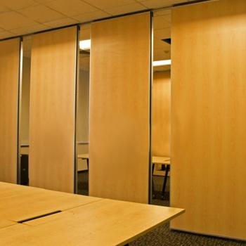 Decorative Movable Aluminum Tracking System Flexible School Wall Panel Sliding Folding Parion Doors Parions Door