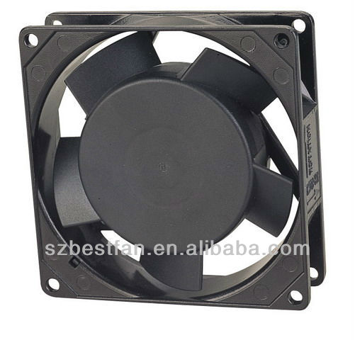 quiet high speed 92 mm electric ac fan