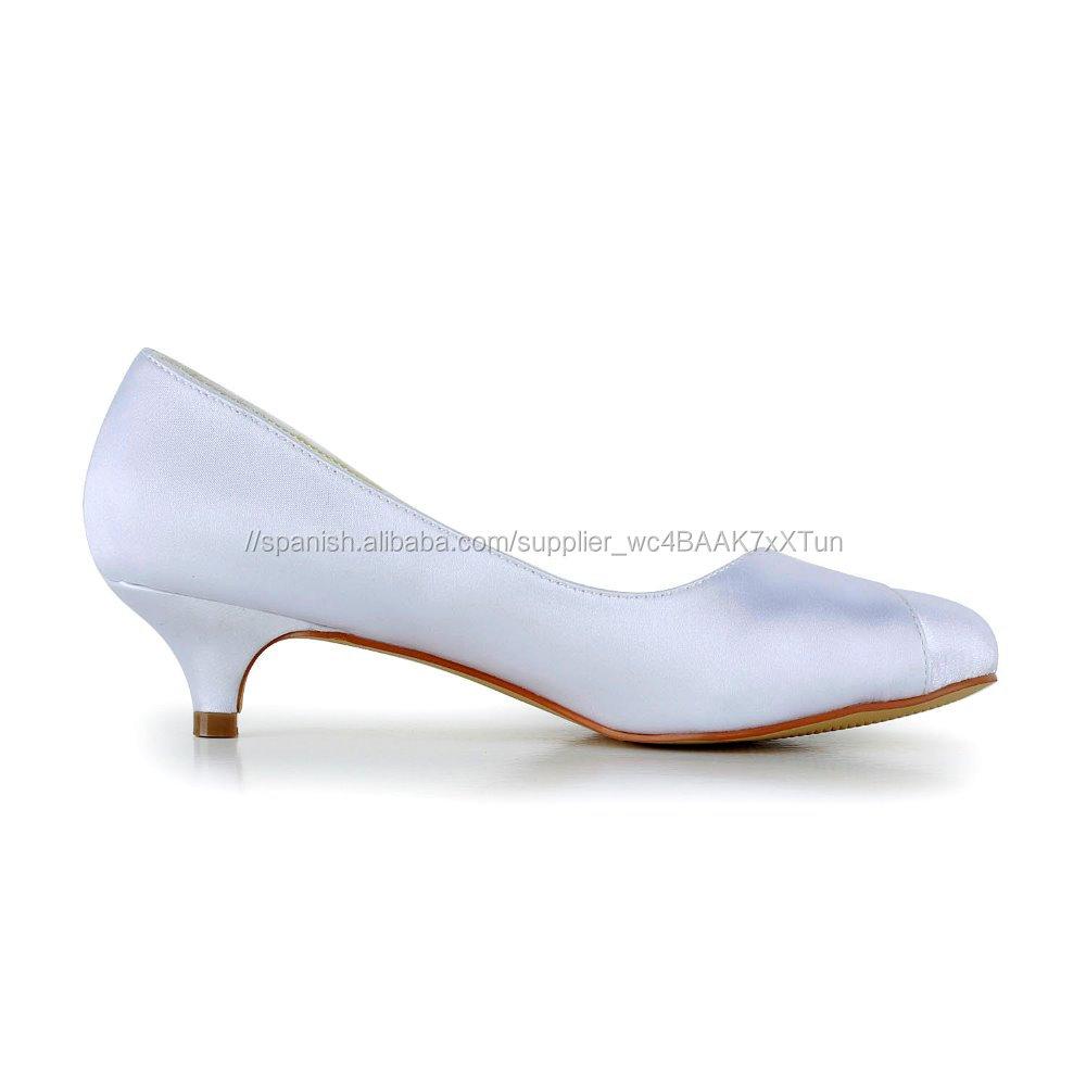 Boda Tacón Venta Caliente De Blanco Zapatos Usados Para Mujer PiXZOukT