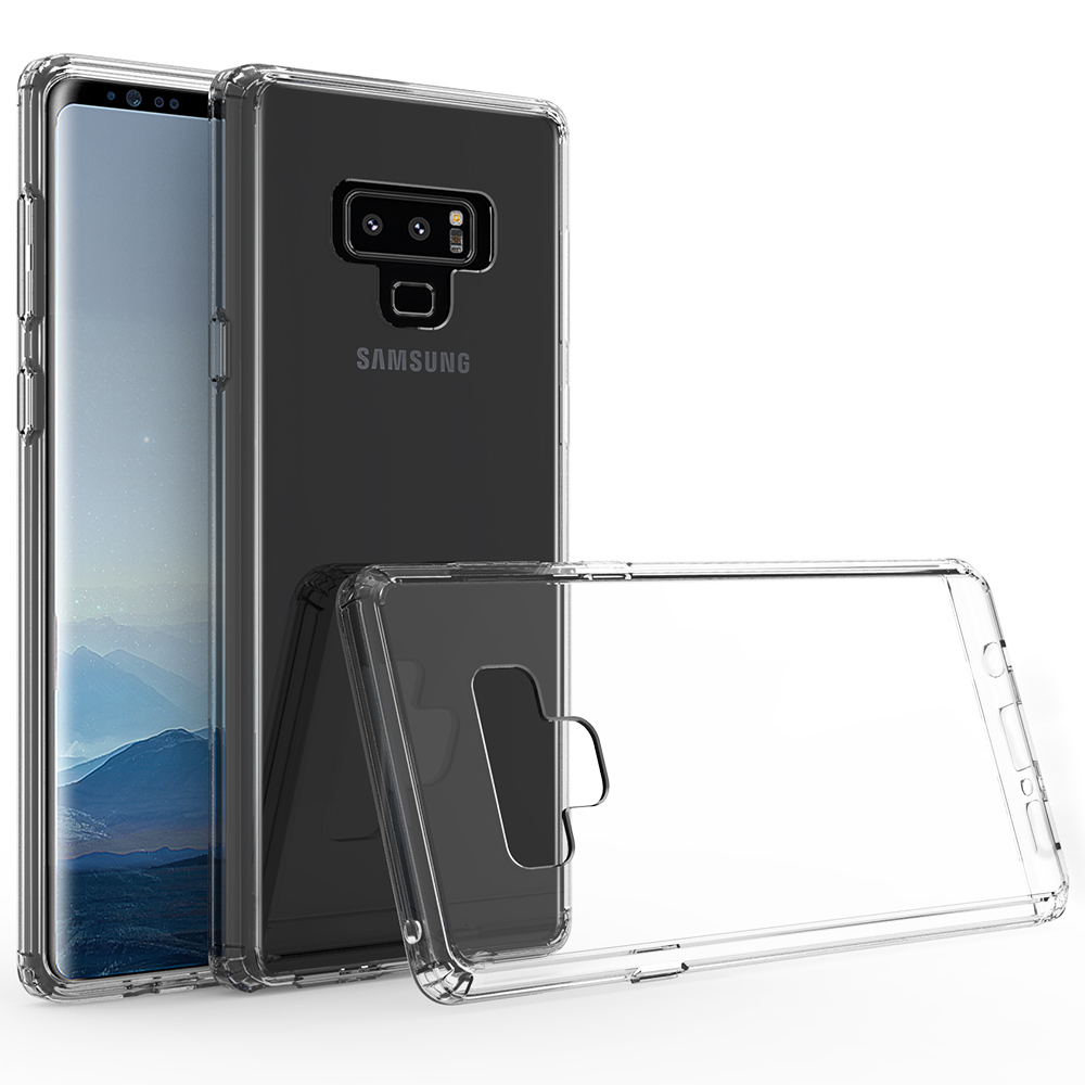 Transparent Acrylic TPU Clear Smartphone Case For Samsung Note 9 Full <strong>Cover</strong>