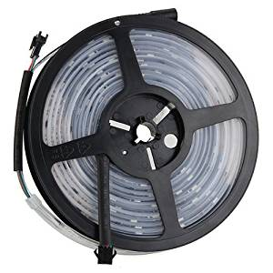 SODIAL(R) 5M Waterproof RGB 6803IC LED Strip Light Chasing Magic Dream Color 133 Changes