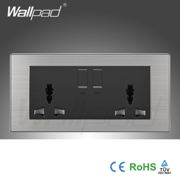 Wholesaler wallpad luxury 146 wall light switch panel uk double 1 wholesaler wallpad luxury 146 wall light switch panel uk double 1 gang 3 pin 13a universal aloadofball Choice Image