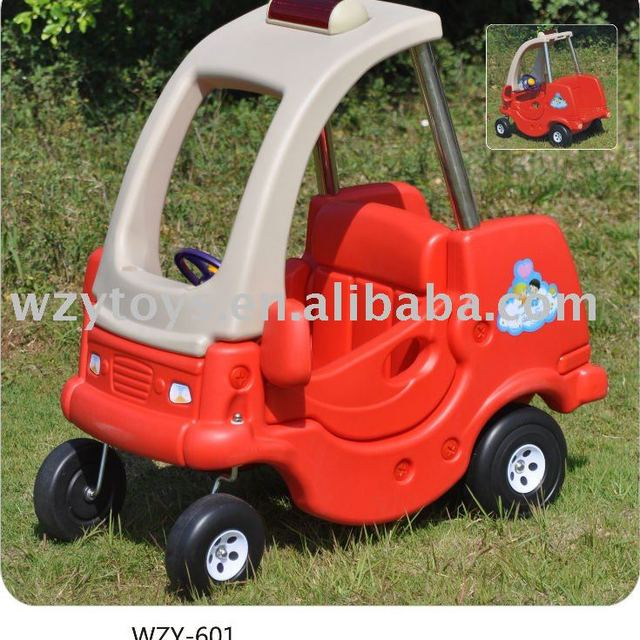 plastic coupe ride car kids play toys