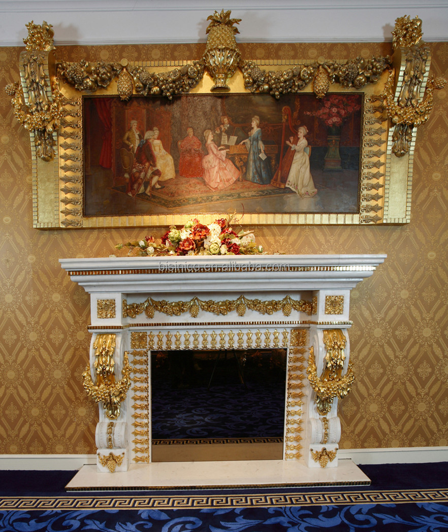 luxury french louis xv wooen fireplace mantel for electric firebox insert european fancy home. Black Bedroom Furniture Sets. Home Design Ideas