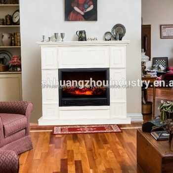3 Color Mdf Decor Flame Electric Fireplace Heater With Infrared