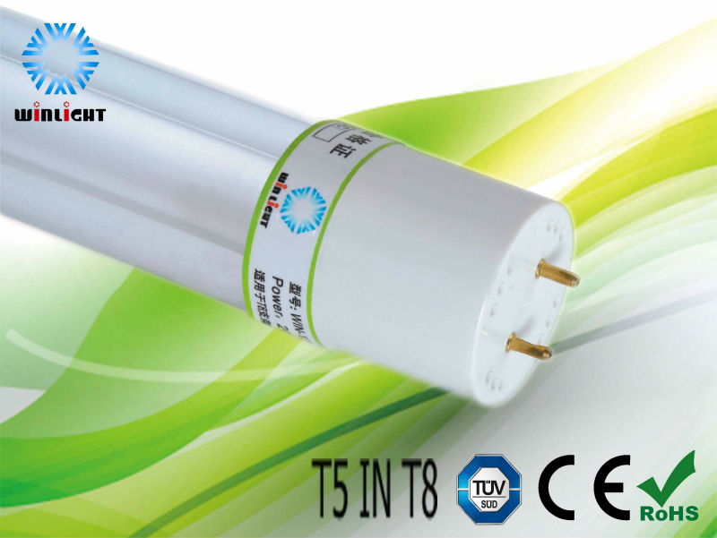 t5 energy adapter to t8 cfl tube for industrial and commercial lighting