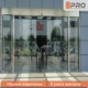 Automatic Commercial shopfront double swing glass door