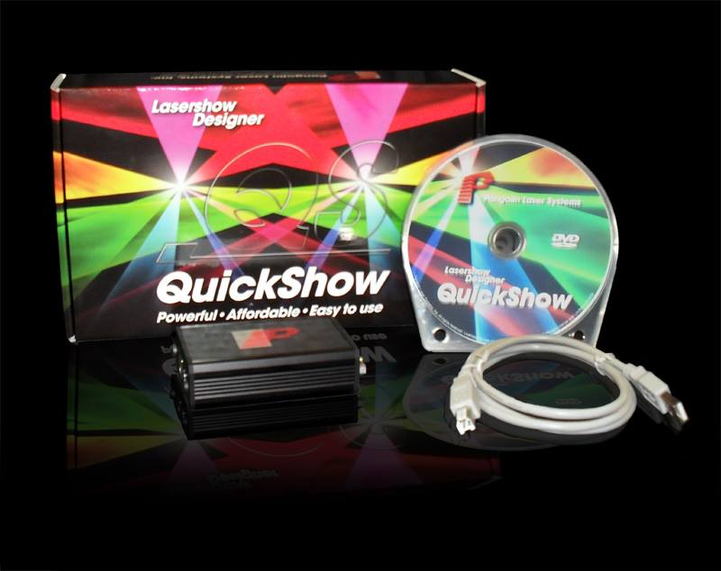 Pangolin Quickshow Professional Laser Software for Laser Light