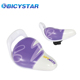 High quality real Cow leather bike seat for children Eco-friendly leather bicycle saddle with push bar purple child bike saddle