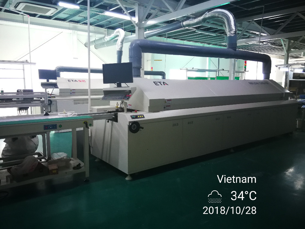 Led T8 Tube Lamp Making Machine SMT Production Line Details 5