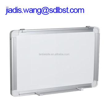 Wall Hang Slide Magnetic White Board For Clrooms And Office