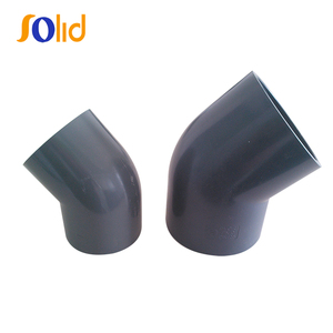 High Temperature PVC 45 Degree Elbow Bend PN16