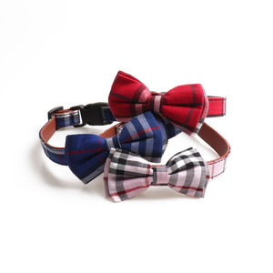 Wholesale best selling fashion cute bow tie collar bowknot pet collar bowtie cat and dog collars