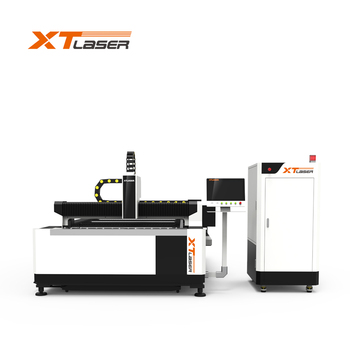 Sheet Metal fiber Laser Cutting machine 500w 1kw 2kw 3kw From China XT Factory