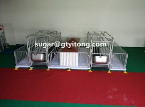 hot sale swine farrowing crates for pig raising equipment