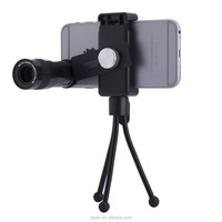 9X Smartphone Zoom Lens For Mobile Phone Cell Phone Telephoto Lens 9X Telescope Zoom Phone Camera clip Lens
