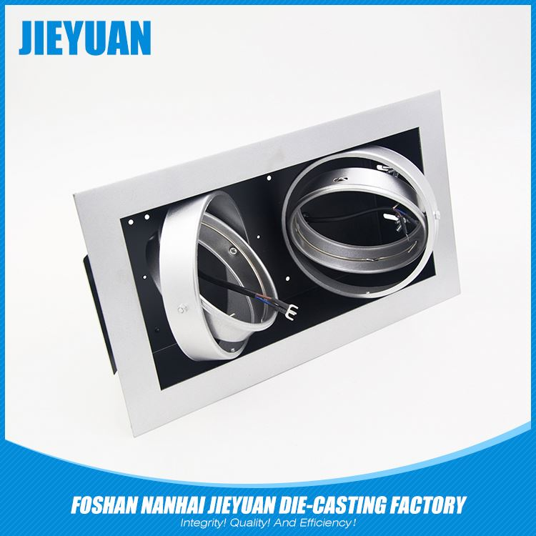 empty auto lamp heat sink body cover light housing