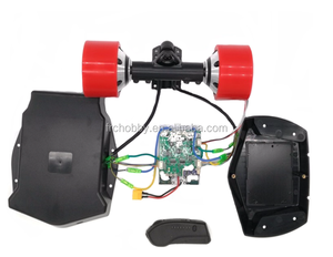 90mm dual drive hub motors kits for diy electric skateboard with case
