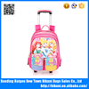 China Alibaba hot sale cartoon trolley school backpack bag for kids from 1-3 grade
