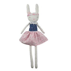 Easter Bunny Handiwork Gift Rabbit Toys For Children Cute Animal Doll