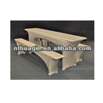 Spandex Stretch Beer Bench Cover Elastic Table Cover Spandex