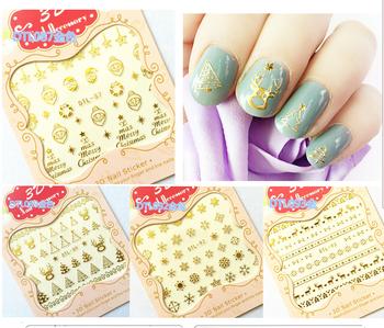 New design beautiful wedding nail sticker 3d nail art buy nail new design beautiful wedding nail sticker 3d nail art prinsesfo Choice Image