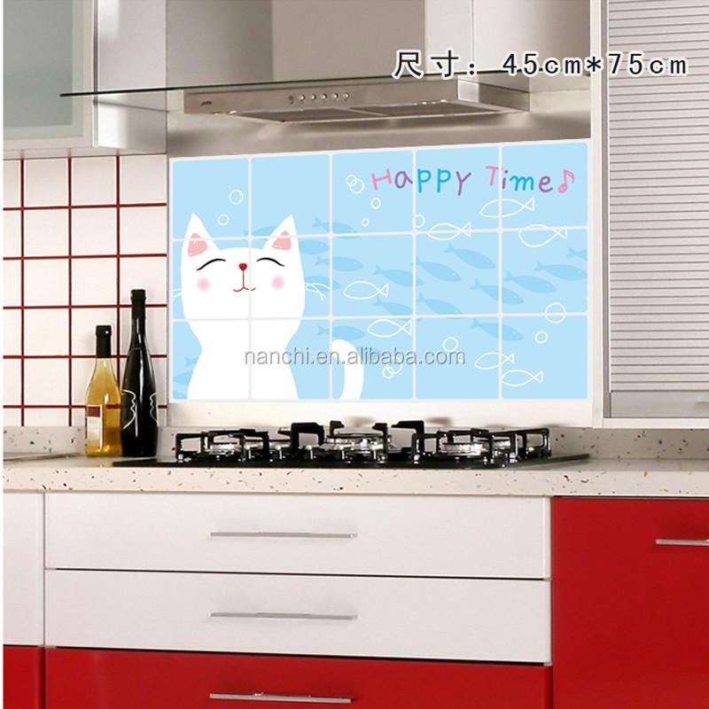 Venta al por mayor adhesivos decorativos para azulejos cocina-Compre ...