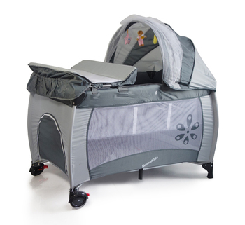 easy foling baby playpen bed baby crib with changing table