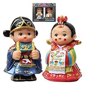 Folk dolls Korea (small) gift the bride and groom Korea Korea souvenir Gift