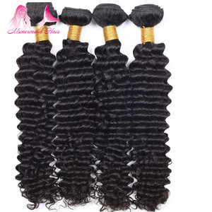 steam processed virgin hair high quality 8a grade deep curly premium human hair