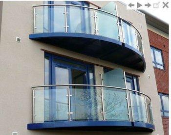 Stainless Steel Glass Balcony Railing Buy Glass Balcony