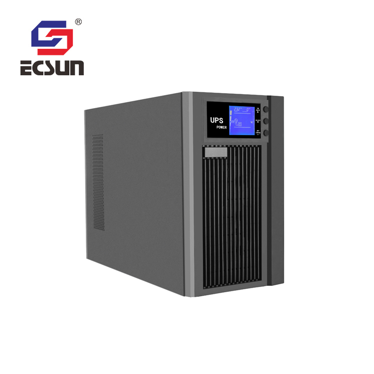 T Ecsun Single Phase Pure Sine Wave Online Ups 2kva with ups battery 12V  7AH for long backup time, View online ups 2kva, ECSUN/OEM Product Details