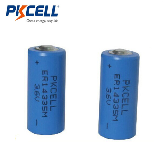 Nominal Capacity 1650mAh ER14335 2/3AA LiSOCL2 3.6V lithium battery