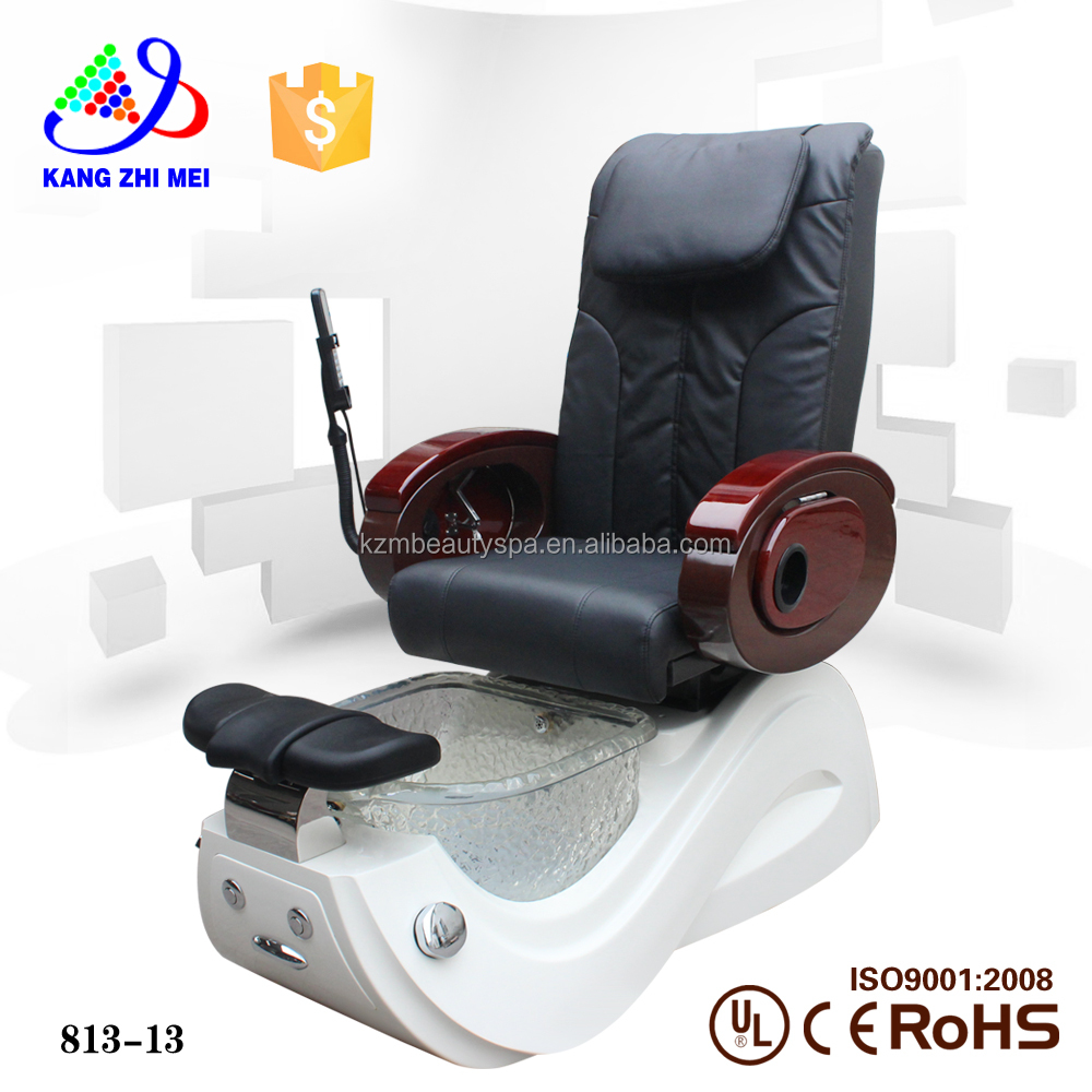 modern and elegant in fashion salon furniture pedicure chair dimensions for sale (KM-S813-13)