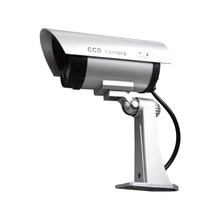 JOOAN CCTV Security Camera with 30 Units Illuminating LEDs No Flash Fake CCTV Security Camera