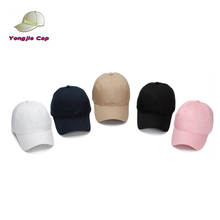Customized small embroidery washed distressed unstructured 100% cotton twill plain dad hat
