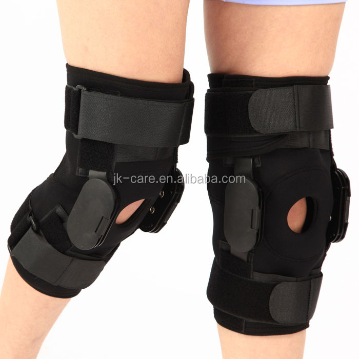 Orthopedic Leg Brace Knee Support fracture knee immobilizer adjustable knee brace with two hinges