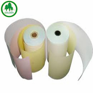 3-ply NCR Carbonless Paper computer form paper jumbo rolls