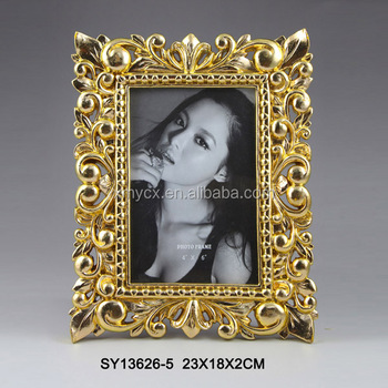 Antique Resin Gold Cheap 4x6 Photo Frames For 2017 Buy Cheap 4x6
