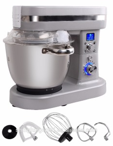 Automatic food mixer heated with heating function