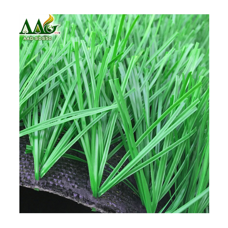 Best synthetic lawn AOJIAN soccer artificial grass prices, Dark green or light green