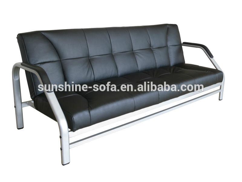 Marco de metal futon cum sofá cama para el hogar, de la oficina ...