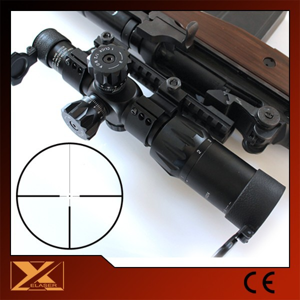 1-6X24 reticle illuminated tactical gun scope