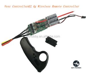 Vesc Controller&2 4g Wireless Remote Controller for Electric Skateboard