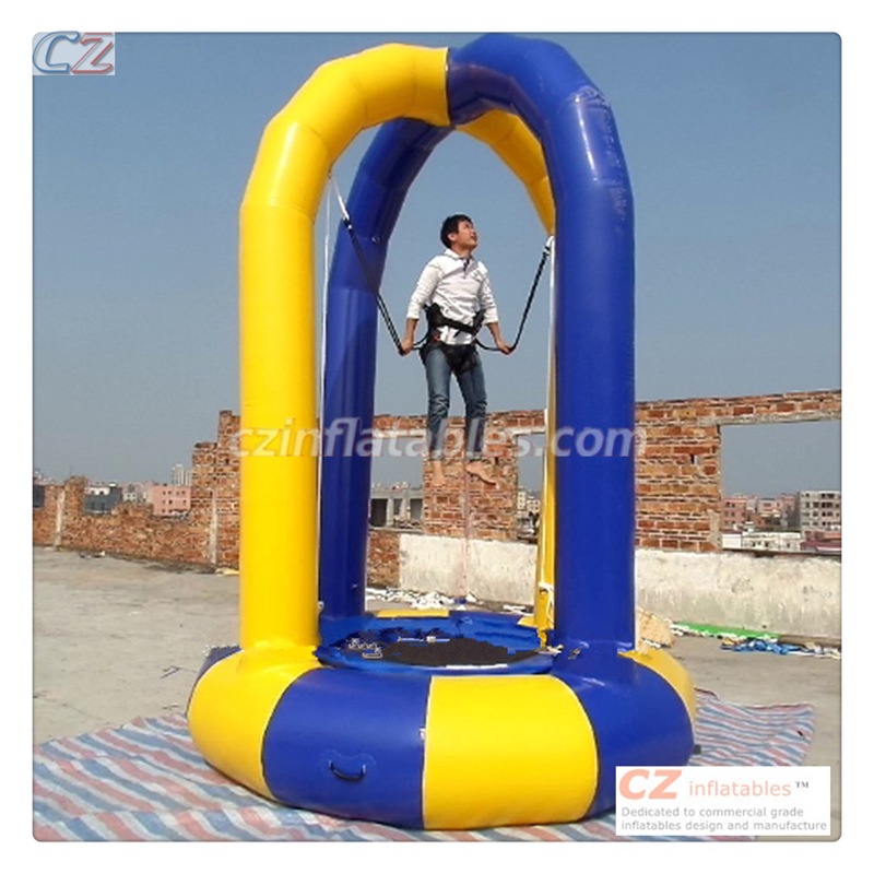 Commercial quality inflatable bungee jumping equipment for sale