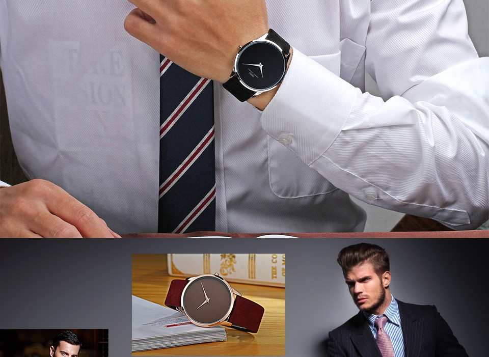 6880b882af8 Compre IBSO 7 MM Ultra Fino Mens Relógios Top Marca De Luxo Genuíno ...